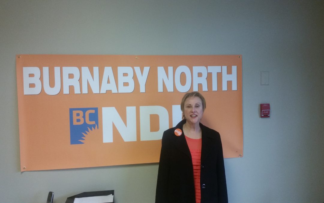 Why Janet Routledge (BC NDP Candidate for Burnaby-North) Thinks TransMountain Will Make Gasoline More Expensive (Interview Part 01)