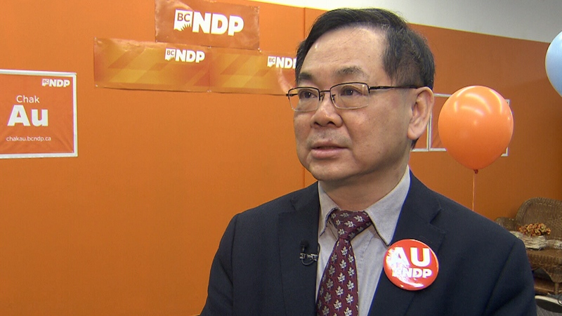 Is Chak Kwong Au (BC NDP Candidate for Richmond-South Centre) a Left-Wing Politician? Watch How He Labels Himself